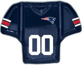 Unbranded New England Patriots Glass Jersey Chip And Dip Platter