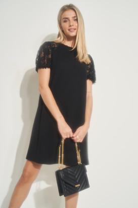 Ardene Lace Sleeve Mini Dress