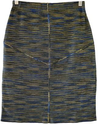 M Missoni Blue Cotton Skirt for Women