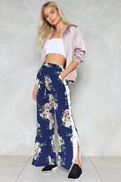 Nasty Gal nastygal Snap It Up Floral Pants