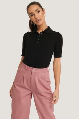 Trendyol Polo Collar Knitted Top