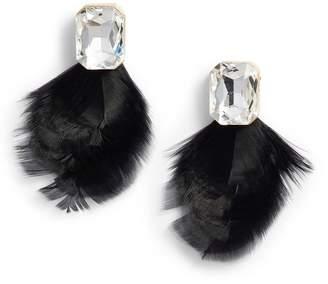 Kate Spade Feather Drop Earrings