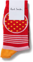Paul Smith Collette Mixed Polka Sock