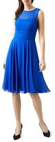 Hobbs London Ashling Bow-Detail Dress
