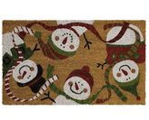 Mohawk home Mohawk® Home Snowmen Everywhere Coir Doormat - 18'' x 30''