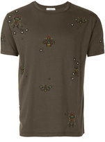 Valentino insect beaded T-shirt - men - Cotton/Polyester - S