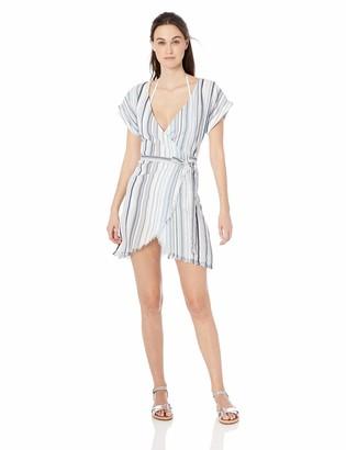 Splendid Women's Wrap Swimsuit Cover Up Dress