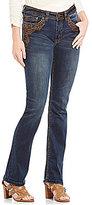 "Reba ""Sierra Sunrise"" Jayden Embroidered Straight Leg Jean"