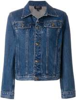 A.P.C. Cherry denim jacket