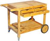 Regal Teak Hampton Outdoor Bar Cart - Natural