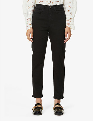 Sessun Faded tapered high-rise jeans
