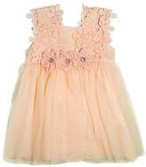 Nannette Mesh Overlay Floral Panty Dress