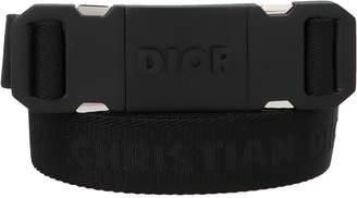 Christian Dior Jacquard Logo Belt