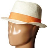 Michael Stars Pop Band Short Brim Panama Hat