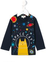 Paul Smith space cat printed T-shirt