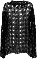 IRO perforated jumper - women - Cotton/Polyamide - 36