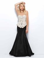Mac Duggal 76696 in Black/White