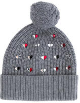 Markus Lupfer Wool Embellished Beanie w/ Tags