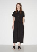 Raquel Allegra Crinkle Shirt Dress