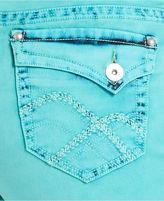 Hydraulic Plus Size Jeans, Bailey Capri, Seaglass Wash