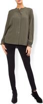 Monsoon Harper Velvet High-Rise Skinny Trouser