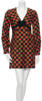 Milly Silk Long Sleeve Dress w/ Tags