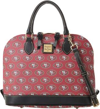 Dooney & Bourke NFL 49ers Zip Zip Satchel