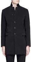 Attachment Rever lapel long blazer