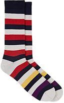 Paul Smith Men's Mel Striped Mid-Calf Socks