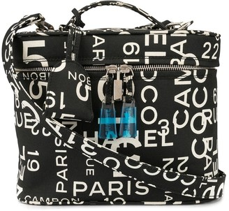Chanel Pre Owned By Sea cosmetic bag