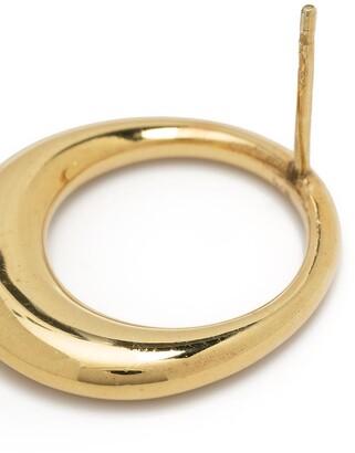 BONVO Lune hoop earrings