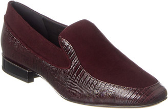 Reiss Nina Leather & Suede Loafer
