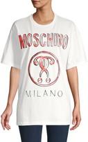 Moschino Logo Graphic Cotton Tee