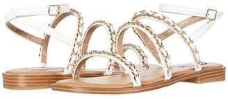 Steve Madden Telsa Sandals (White Multi) Women's Shoes
