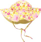 I Play I-Play Toddler Girls Reversible Brim Sun Protection Hat