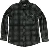 Metal Mulisha etalulishaen's Sleet Polar Button Down Fleece-ediu