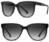 Shwood Women's 'Mckenzie' 57Mm Polarized Sunglasses - Black/ Ebony/ Grey Polar