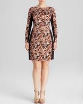 Anna Scholz plus Silk Print Dress
