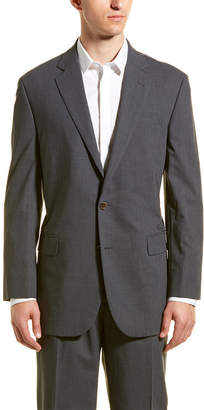 Brooks Brothers Wool-Blend Suit With Pleated Pant