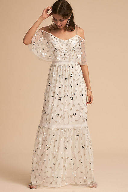 Anthropologie Faye Wedding Guest Dress