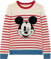 Cath Kidston Mickey Stripe Placement Jumper