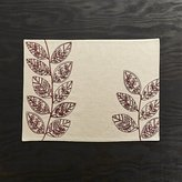 Crate & Barrel Etta Embroidered Placemat