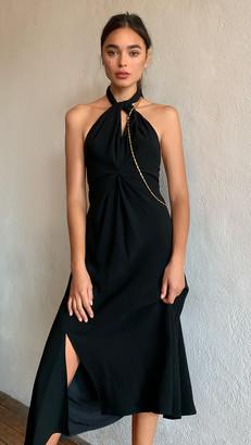 Victoria Beckham Halter Neck Dress