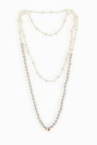 Carolina Bucci Mix Pearl Necklace