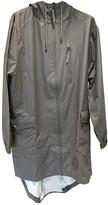 Rains Grey Polyester Jackets