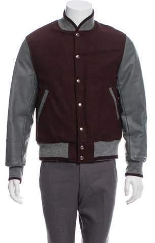 490f619947 Thom Browne Leather Jacket - ShopStyle