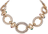 One Kings Lane Vintage Givenchy Two-Tone Jewel Necklace