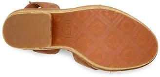 UGG Carine Chunky Wedge Sandal