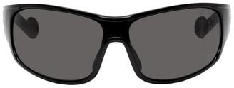 MONCLER GENIUS 6 Moncler 1017 ALYX 9SM Black Wrap Around Sunglasses