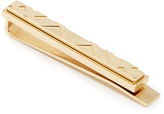 Burberry Checked tie bar